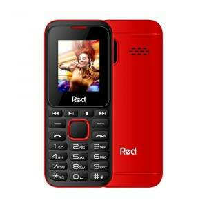 Celular Red Mobile Fit Music II M011G Tela 1.8