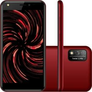 Smartphone Positivo Twist 4 Fit 32GB Dual Chip And..