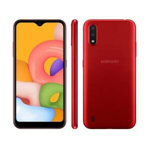 Smartphone Samsung Galaxy A01 32GB 4G Android 10.0..