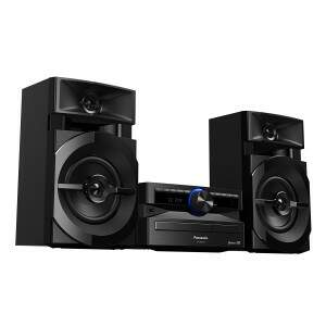 Mini System Panasonic AKX100LBK com Bluetooth, Rád..